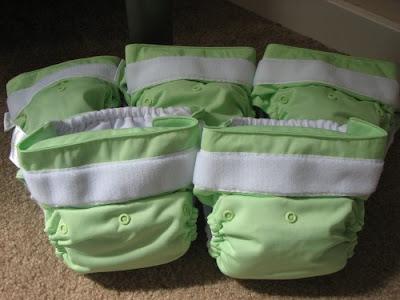 Cloth diaper photo