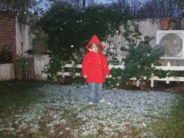 Nieva en Casa