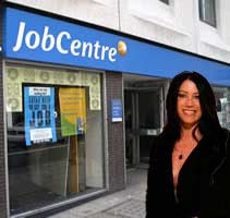 Victoria Newton goes to the JobCentre