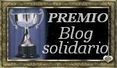 A honra do Prémio Blog solidário