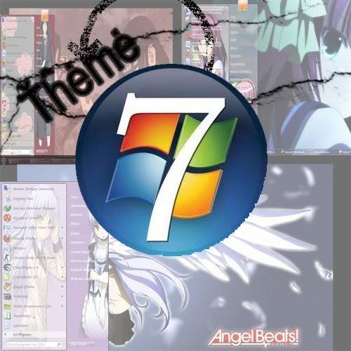 Windows Xp Theme File Software: ~ Free 4 All ~: Anime Theme For Windows 7