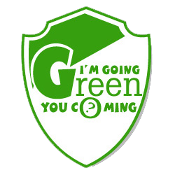 I'm going green you coming