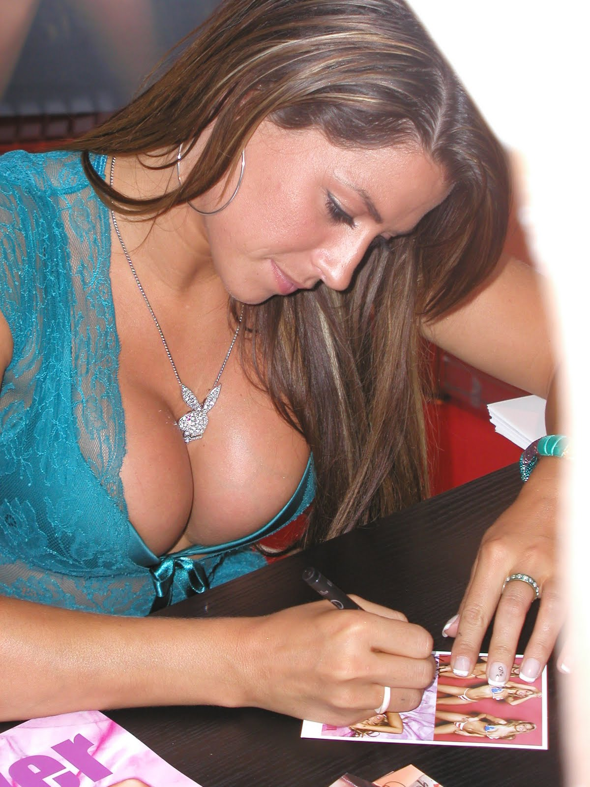 DIRTY MIND'S DELIGHT: Louise Glover is hot.
