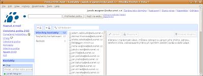 Správa kontaktů v Gmail