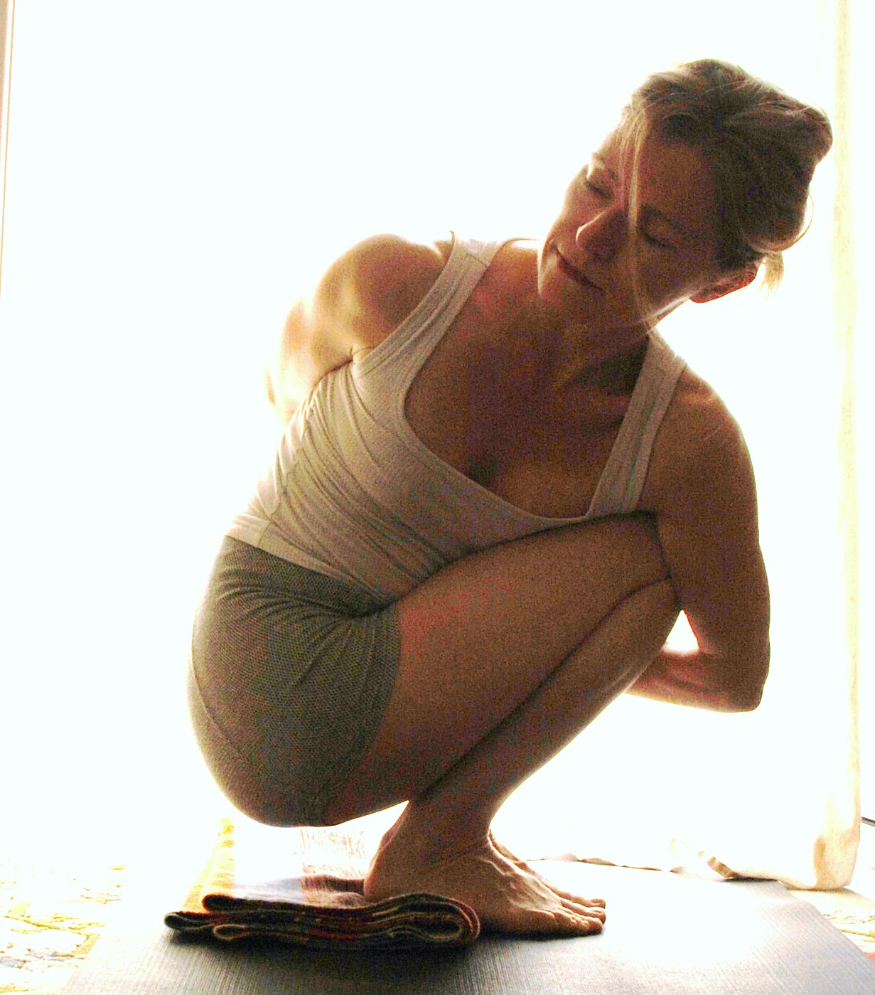 Ashtanga Yoga And Props