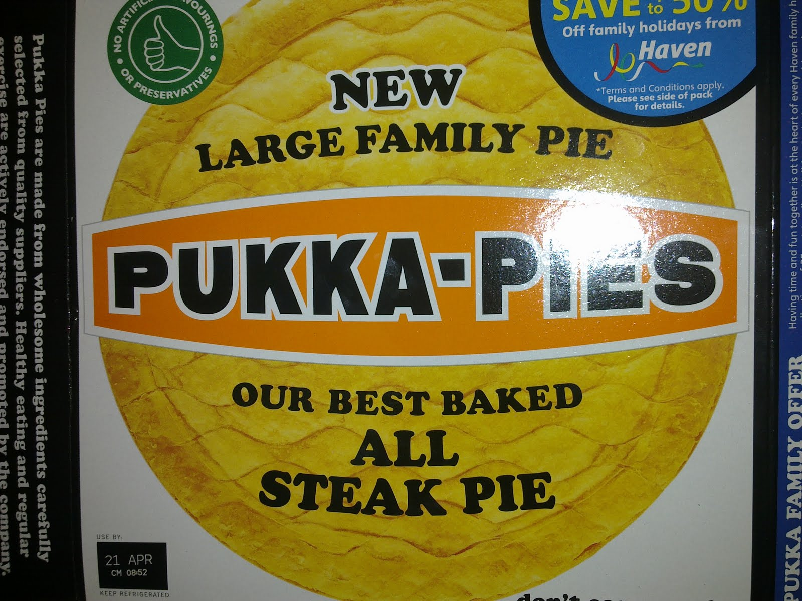 Pierate - Pie Reviews: We are family, yeah yeah yeah yeah ...