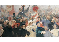 Ilya Repin, Manifesto of October 17th, 1905, 1911, courtesy of the State Russian Museum, St Petersburg