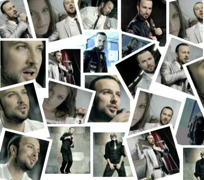 Screencaps from Tarkan's music video Vay Anam Vay