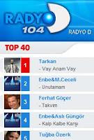 Tarkan number one at Radyo D
