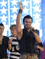Tarkan at Russian talent show Star Factory