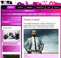 Tarkan at German music channel Viva