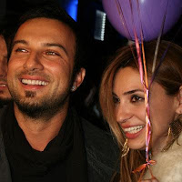 Tarkan and Bilge celebrating her 30th birthday this February