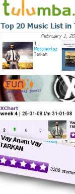 Tarkan topping sales and airplay charts
