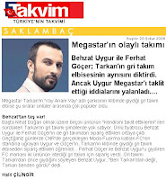 Takvim's report on popularity of Tarkan's style
