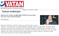 Marriage rumours in newspaper Vatan