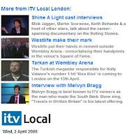 Tarkan on ITV Local London