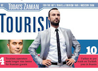 Tarkan features in Today's Zaman supplement, March 2008