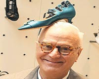 Manolo Blahnik on a trip to Istanbul