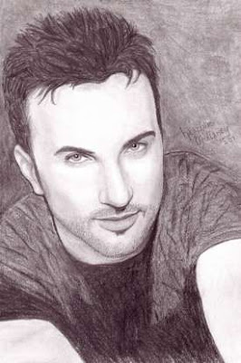 Heather Mullaney's pencil rendering of Tarkan