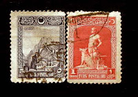 By Ugur Sarak; Stamp collecting: some old Turkish Stamps
