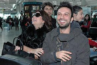 Tarkan and close friend Sibel Can flying off to give a private concert in Russia