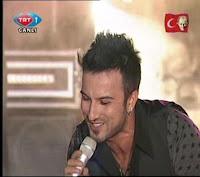 Tarkan performing for International Children's Day in Turkey