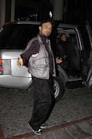 Tarkan caught outside Anjelique Bar in Istanbul