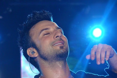 Tarkan on stage at Bilgi Mayfest 08 © Sarihayal