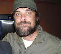 Robbie at the Nevada UFO Congress © BBC