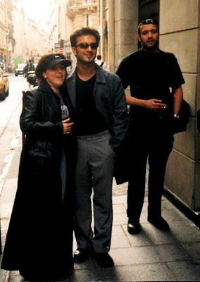 Tarkan in Paris with German fan, 26 April 1999 © Buket Yalcin