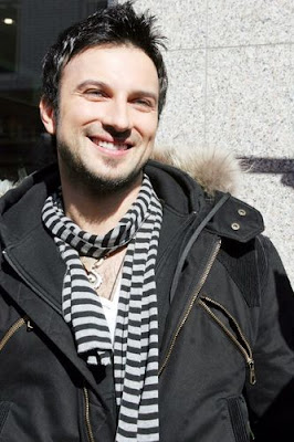Tarkan promoting his Bounce single in Germany