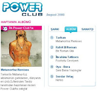 Tarkan at Power Club
