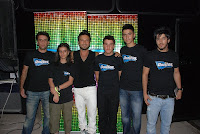 The five winners that got the chance to meet Tarkan in Diyarbakir