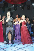 Tarkan on stage at fundraiser for Mika-DER