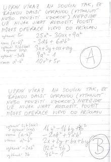 Matematika 9c Procvicovani Vyrazy