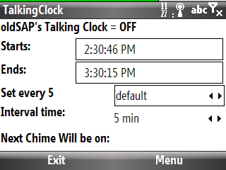 TalkingClock