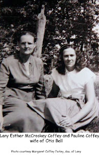 Lany Esther McCroskey Coffey and Pauline Coffey Bell