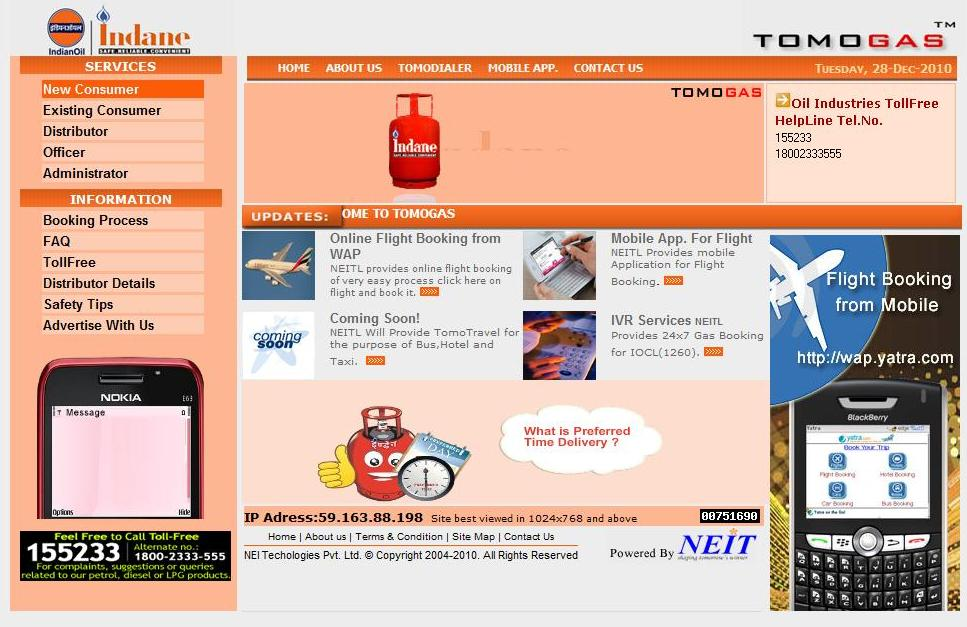 December 2010 | Complete Information on Taxation, GST, GST ...