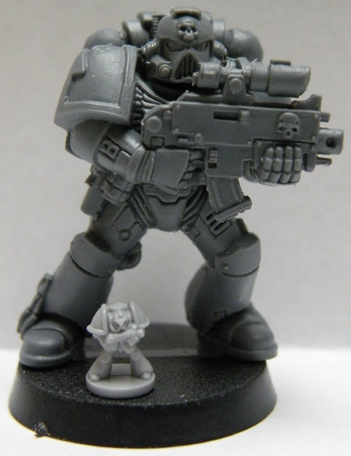 Sons of Twilight: Epic to 40 K Size Comparison