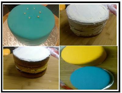 White Iced Madeira Cake