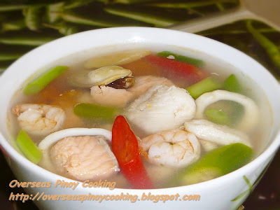 Pinoy Mixed Seafood Soup