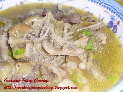 papaitan  Cooking blogger posts: Papaitan