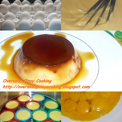 Leche Flan - Ingredients
