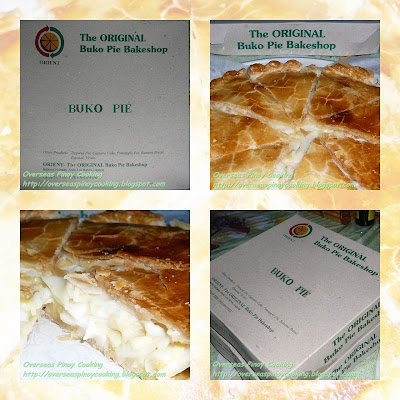 Orient - The Original Buko Pie