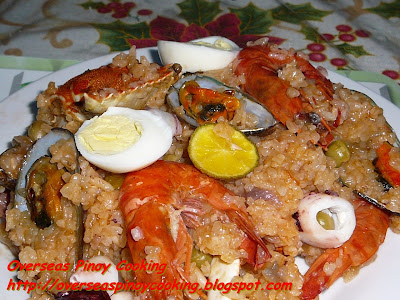 Pinoy Arroz Paella