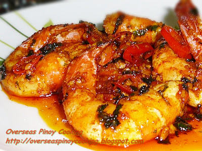 Garlic Shrimp, Gambas Al Ajillo Pinoy Style