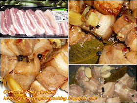 how to cook adobong baboy sa asin
