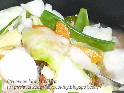 Chopsuey Cooking Procedure