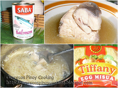Misua with Canned Salmon Soup - Gallery