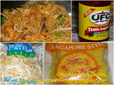 Pinoy Style Mee Goreng - Cooking Procedure